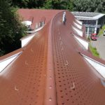 Spitzdach Rot